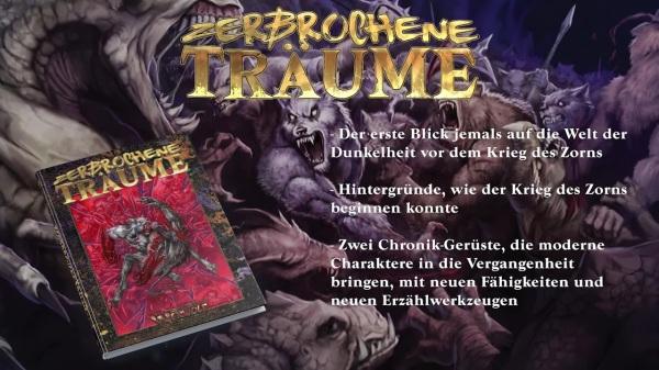 Vampire & Werwolf: Die Jubiläumsausgaben - Ulisses Spiele - Zebrochene Träume
