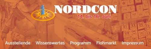 NordCon 2019 - Webseiten Screenshot in Bannerform