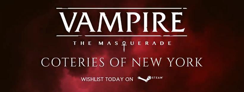 Vampire: The Masquerade - Coteries of New York - Facebook Steam Werbebanner