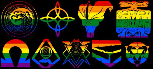 LGBT-Regenbogenflaggen Banner für Magus: Die Erleuchtung