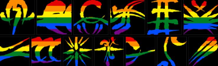 LGBT-Symbole für Werwolf: DieApokalypse