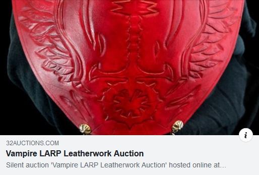 Stille Auktion für Larp/Rollenspiel Accessoires von Matthew Webb
