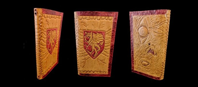 Stille Auktion für Vampire Tagebuch aus Leder von Matthew Webb