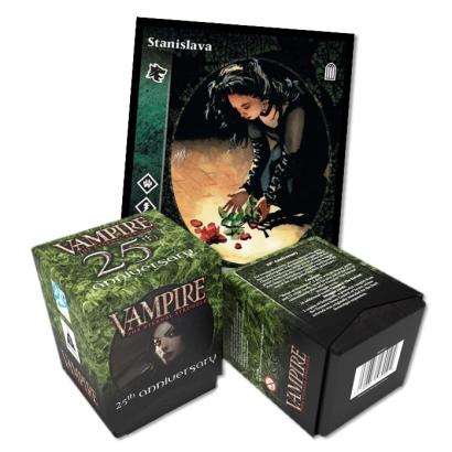 Vampire: The Eternal Struggle - 25th Anniversary Deck deaturing Stanislava 2
