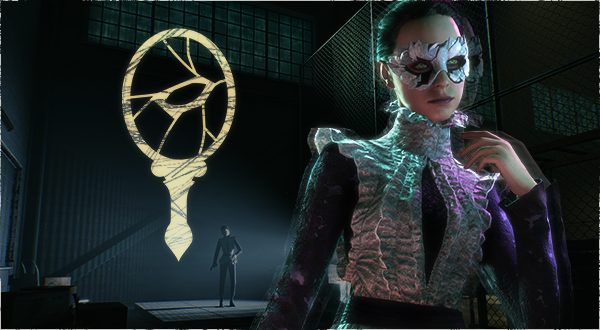 Vampire: The Masquerade - Bloodlines 2 - Malkavianer NSC & Clan Logo (Newsletter)