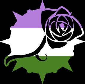 VtM Toreador Antitribu Symbol (GenderQueer Pride Style)
