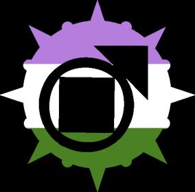 VtM Tremere Antitribu Symbol (GenderQueer Pride Style)