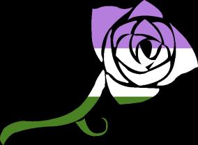 VtM Toreador Symbol (GenderQueer Pride Style)