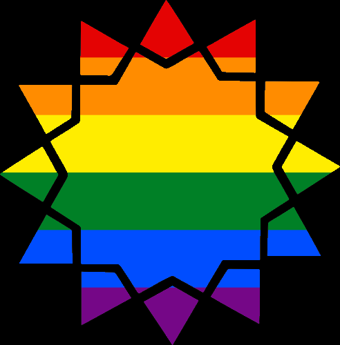 MtA Ahl-i-Batin Disparates Symbol (Pride Style)