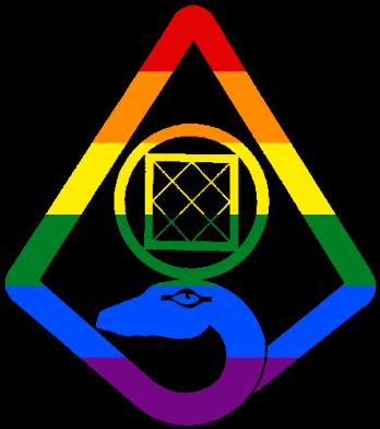 MtA Order of Hermes Tradition Symbol (Pan Pride Style)