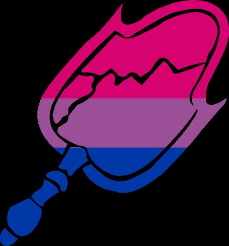 VtM Malkavian Symbol (Bi-Pride Style)