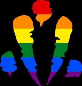 WtA Bastet Fera Symbol (Pride Style)