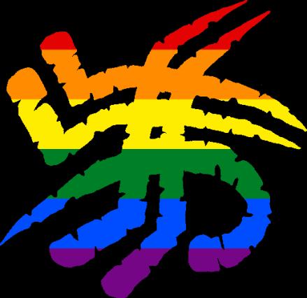 WtA Fenris Totem Symbol (Pride Style)