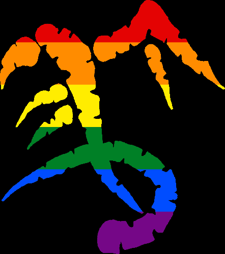 WtA Griffon Totem Symbol (Pride Style)