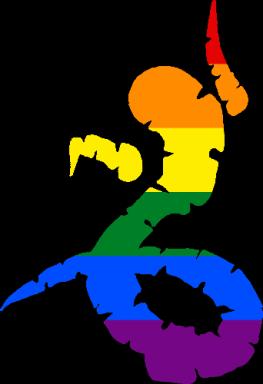 WtA Uktena Totem Symbol (Pride Style)