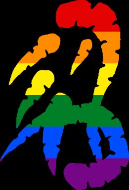 WtA Wendigo Totem Symbol (Pride Style)