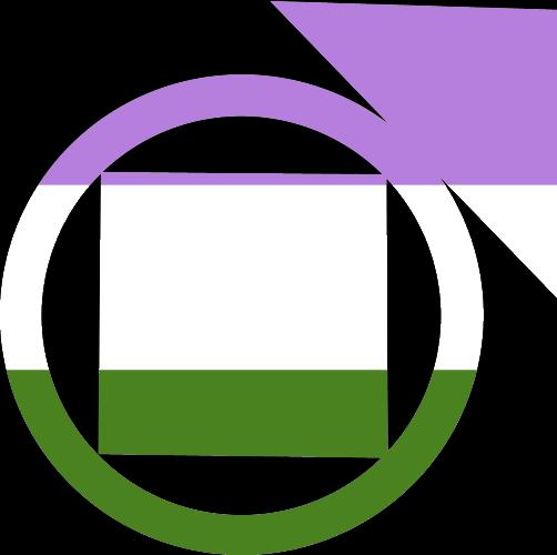 VtM Tremere Symbol (GenderQueer Pride Style)