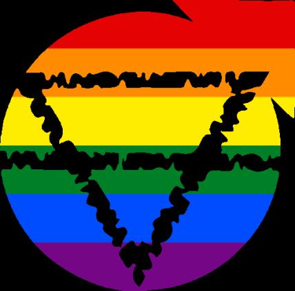 VtM Gargoyles Symbol (Pride Style)