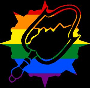 VtM Malkavian Antitribu Symbol (Pride Style)
