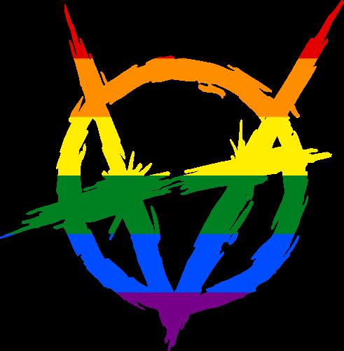 VtM Brujah Clan Symbol (Pride Style)