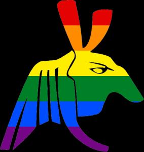 VtM Followers of Set Clan Symbol (Pride Style)