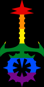 VtM Sabbat Symbol (Pride Style)