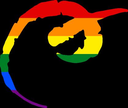 WtA Bunyip Stamm Symbol (Pride Style)
