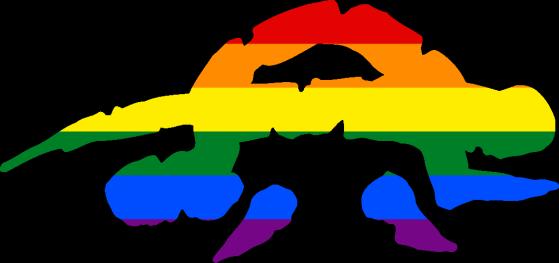 WtA Croatan Stamm Symbol (Pride Style)