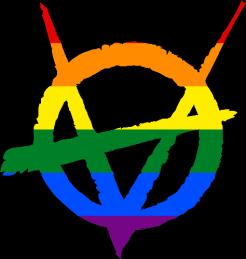 V5 Brujah Clan Symbol (Pride Style)