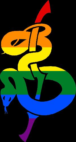 VtM Warrior Setites Symbol (Pride Style)