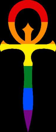 V5 Ankh Symbol (Pride Style)