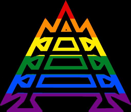 MtA Correspondence Sphere Symbol (Pride Style)