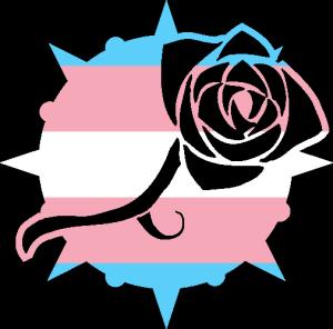 VtM Toreador Antitribu Symbol (Trans Pride Style)
