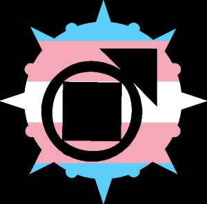 VtM Tremere Antitribu Symbol (Trans Pride Style)