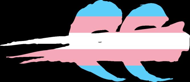 WtA Bone Gnawers Stamm Symbol (Trans Pride Style)