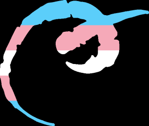 WtA Bunyip Stamm Symbol (Trans Pride Style)