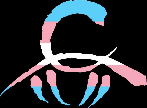 WtA Children of Gaia Stamm Symbol (Trans Pride Style)