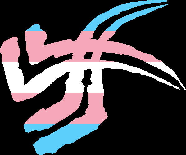 WtA Get of Fenris Stamm Symbol (Trans Pride Style)