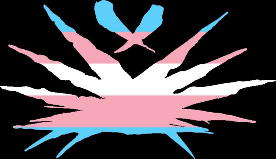 WtA Shadow Lords Stamm Symbol (Trans Pride Style)