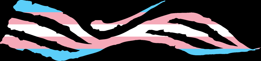 WtA Silent Striders Stamm Symbol (Trans Pride Style)
