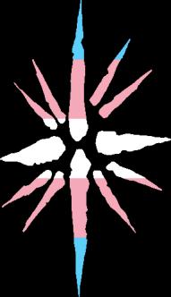 WtA Stargazers Stamm Symbol (Trans Pride Style)