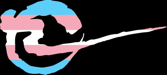 WtA Wendigo Stamm Symbol (Trans Pride Style)