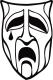V5 Clan Symbol Nosferatu auf weißen Hintergrund