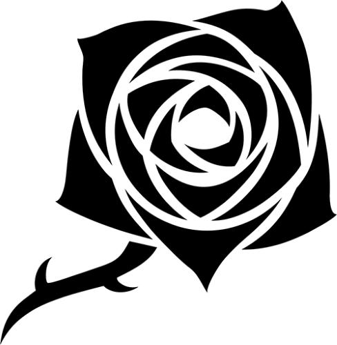 V5 Clan Symbol Toreador auf weißen Hintergrund