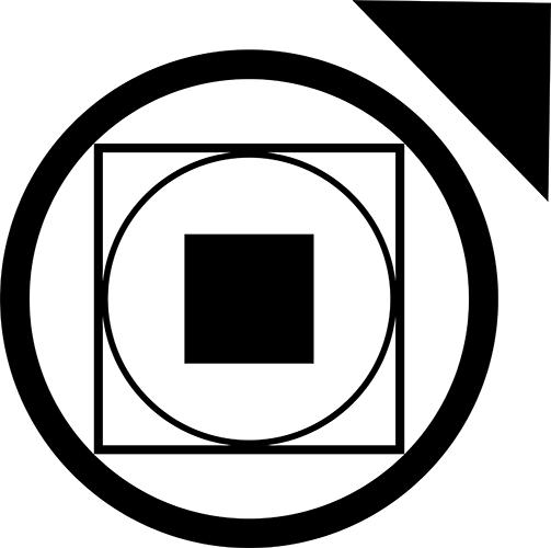 V5 Clan Symbol Tremere auf weißen Hintergrund