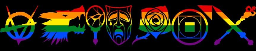 LGBT-Symbole für Vampire: DieMaskerade