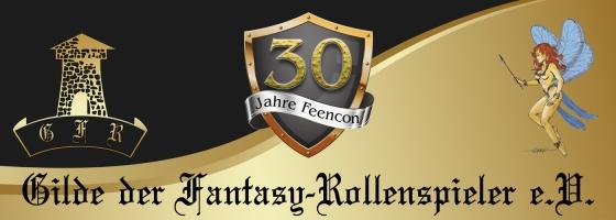 30 Jahre FeenCon - Banner Graphik für die FeenCon 2019 der Gilde der Fantasy-Rollenspieler e.V.