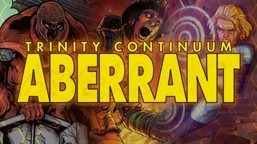 Trinity Continuum - Aberrant - Kickstarter Vorschau Graphik
