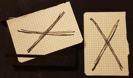 Meine X-Cards zur NordCon & FeenCon