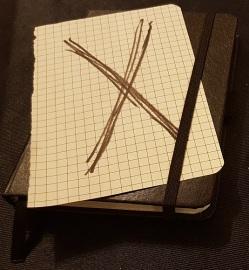 Eine meiner X-Card zur NordCon & FeenCon